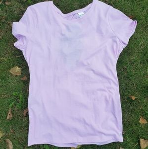 Victoria Secret lavender tshirt
